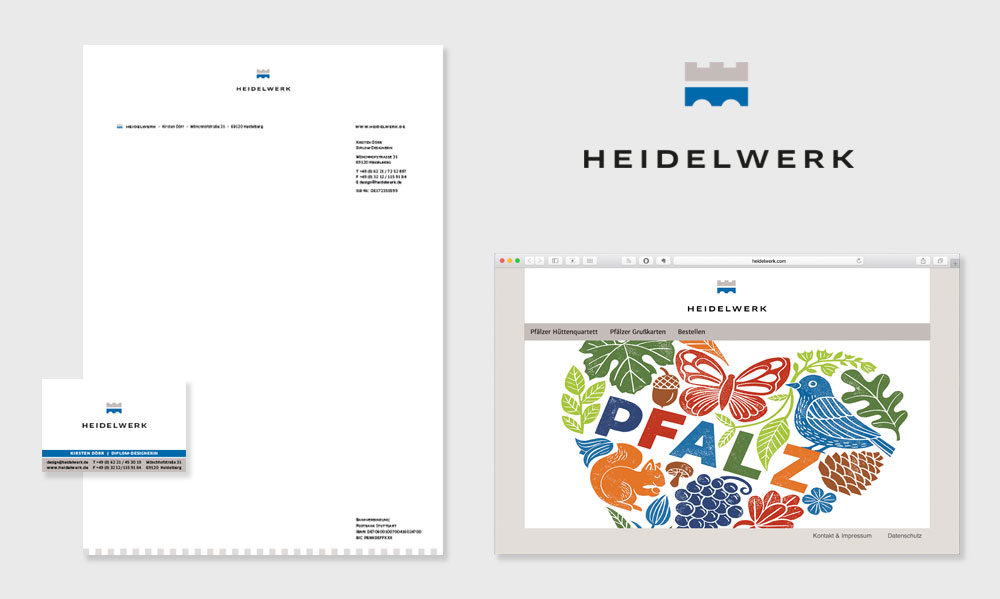 Corporate Design für Heidelwerk